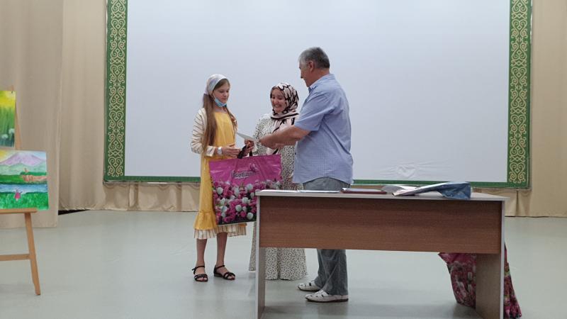 ОНФ наградил победителей  конкурса детских рисунков